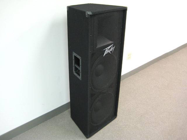 Peavey Pv 215 Dual 15 U0026quot  2 Way Passive Full Range Speaker