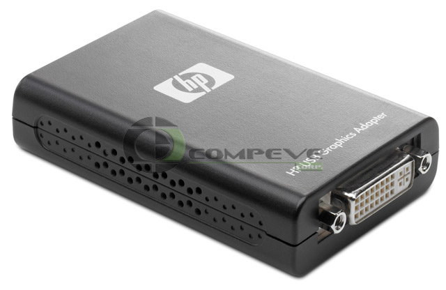 HP NL571AA USB to DVI Video/Graphics Card Adapter for PC's