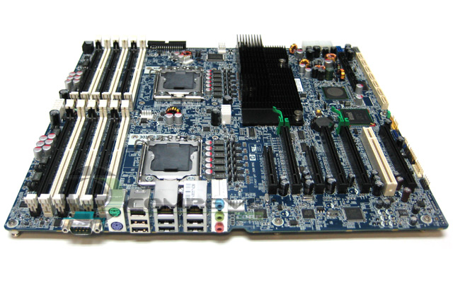 Details about NEW HP Z800 Workstation Motherboard Dual LGA 1366 ...