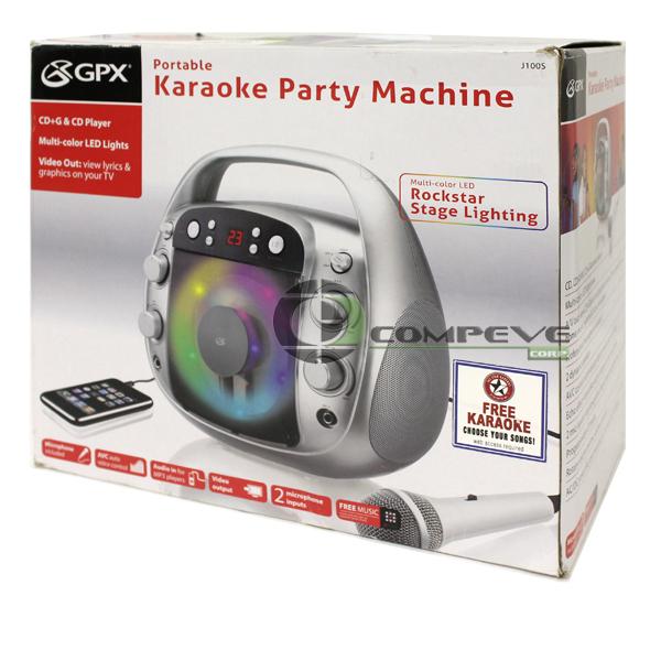 karaoke party machine microphone