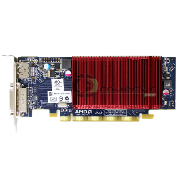 Amd Radeon Hd 6450 1gb Gddr3 Pci E Passive Video Card Dell