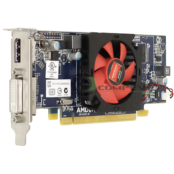 amd radeon hd 7470 1gb pcie x16 low prof video card dell. Black Bedroom Furniture Sets. Home Design Ideas
