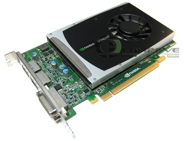 Nvidia Quadro 2000 1gb Pci E X16 Graphics Video Card Hp