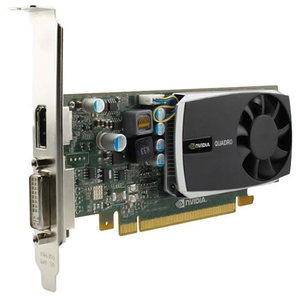 nVidia Quadro 600 1GB DDR3 DVI DisplayPort Graphics Card 900-52009-0300-000