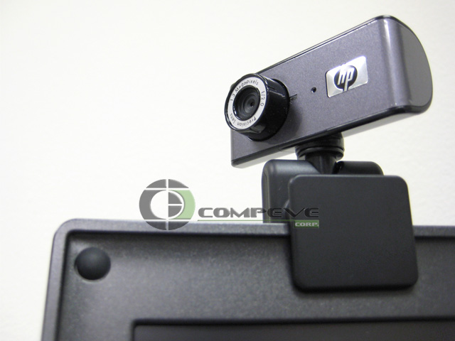 HP RD345AA WEBCAM USB 2.0 Pan/Tilt PC Laptop Notebook WEB CAM - Click Image to Close