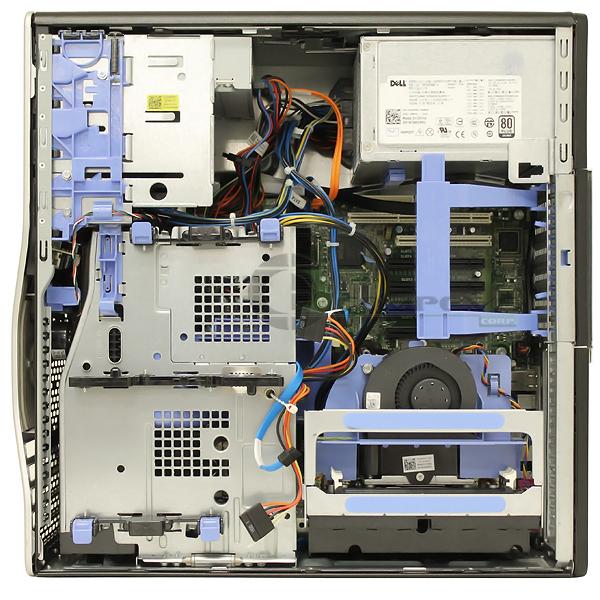 Dell Precision T5500 Barebone 875w Psu Motherboard 2nd Cpu