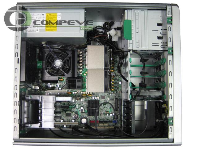 Hp xw8600 pci-e slots