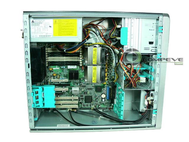 hp xw8200 workstation dual 2 8ghz  4gb  80gb  nvs 440 4