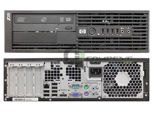 hp  sff workstation computer intel pentium  ghz gb gb hdd