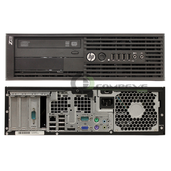 Details about HP Z210 SFF Workstation Intel Quad Core E3-1270 3 4 GHz 4GB  RAM/ 250GB HDD