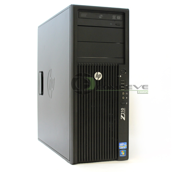 Hp Z210 Desktop Intel I3 2120 3 3ghz 8gb 1tb Hdd Win 7