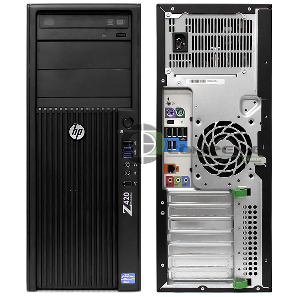 Details about HP Z420 Workstation B2B95UT E5-1620 3 6GHz /6GB RAM /500GB  HDD /No Video Card