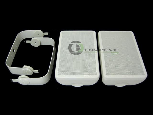 M6 Outdoor/Indoor Porch Pool Patio Weather Resistant Speakers 6 1/2
