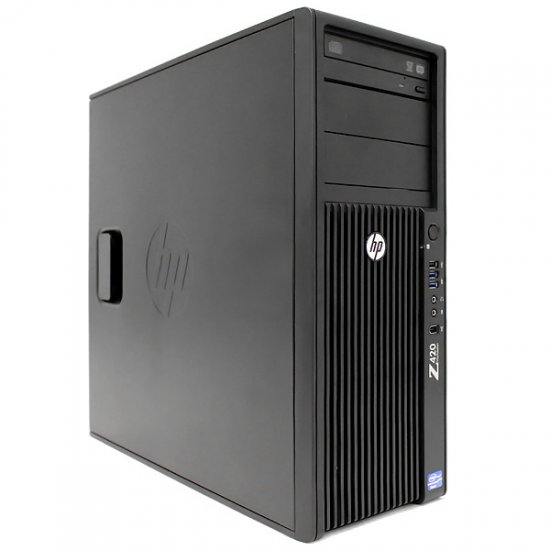 HP Z420 Workstation Intel Xeon E5-1620 v2 3.7GHz 8GB 1TB HDD