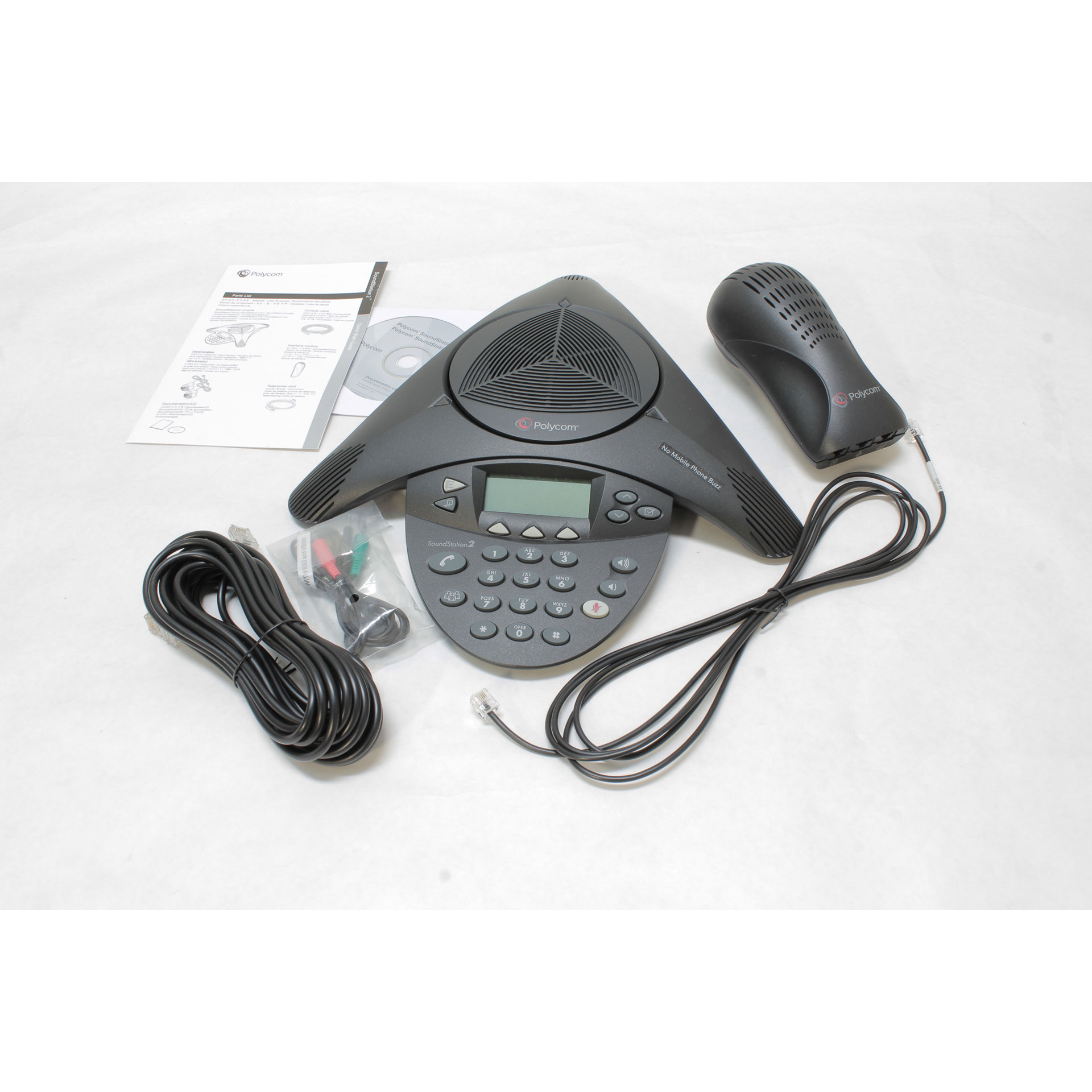 Polycom SoundStation2 EX Conference PhoneCallerID 2200-16200-00