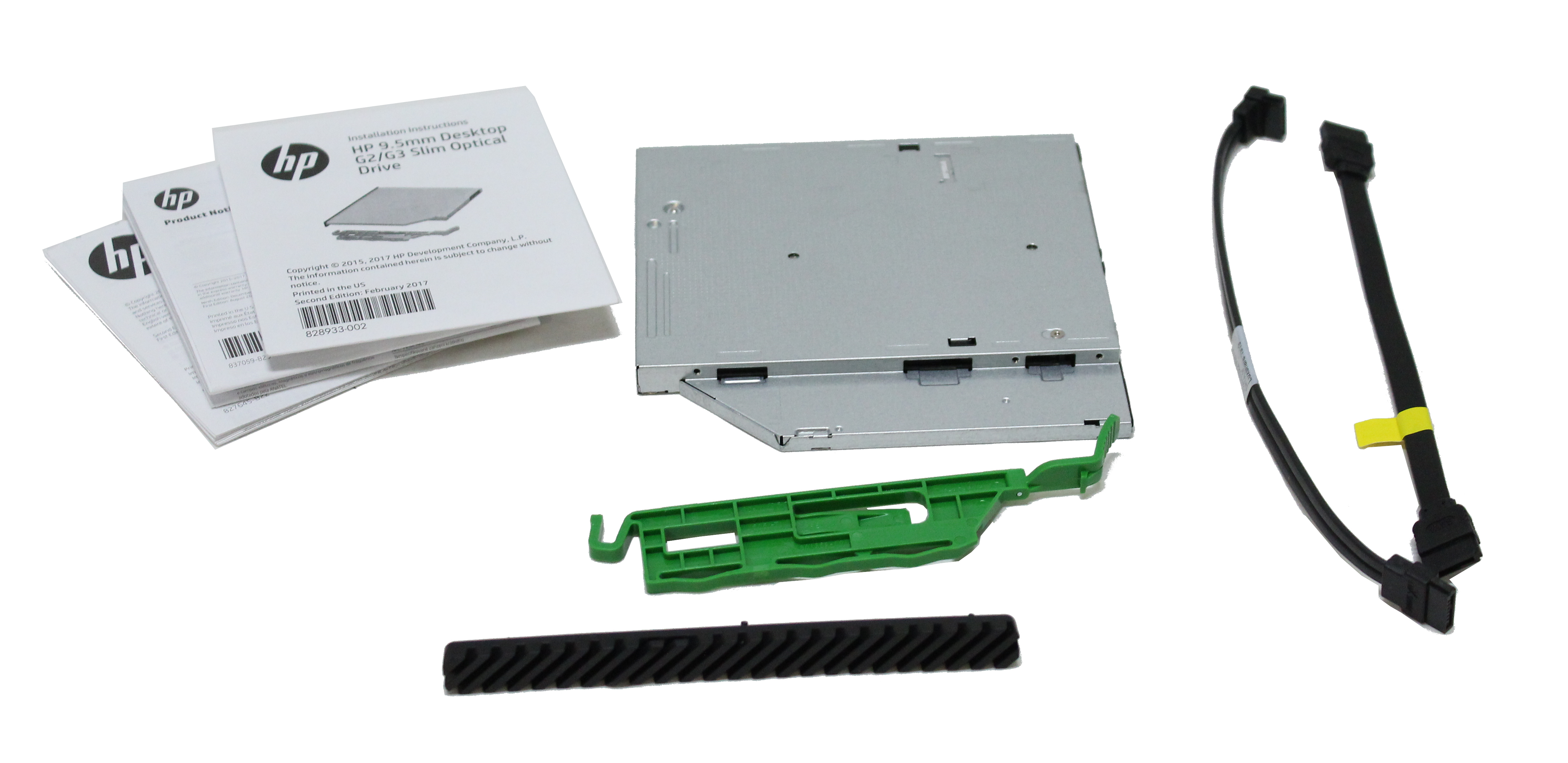 HP Optical Slim Drive Super Multi DVD Writer GUD1N 849055-6C3
