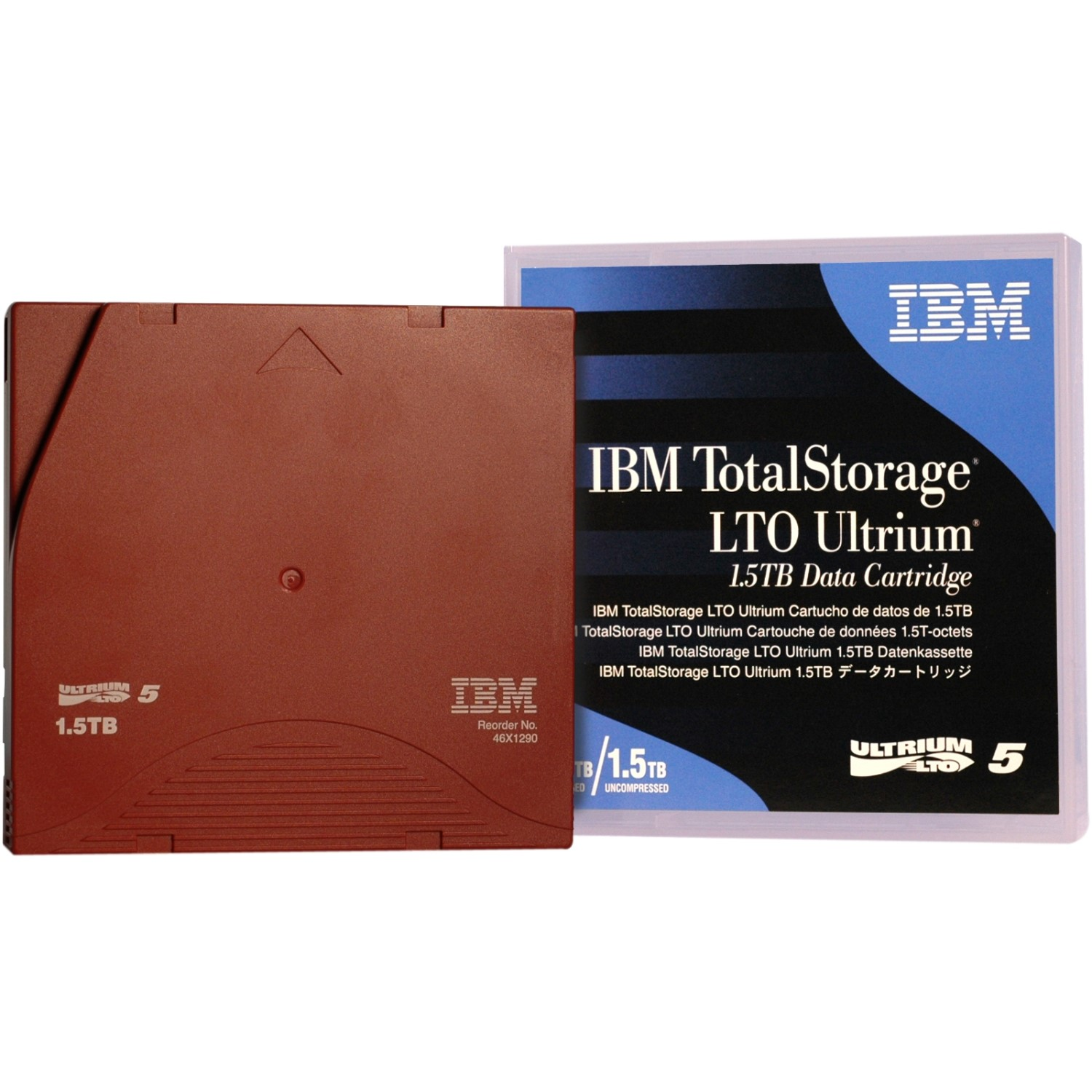 46X1290 IBM Storage media LTO Ultrium 1.5 TB