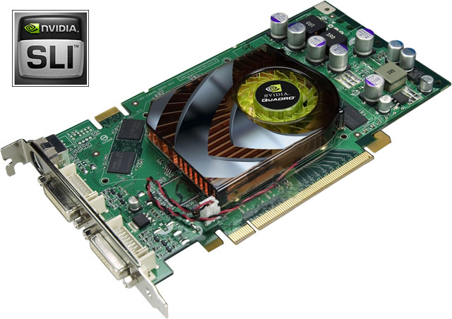 PNY VCQFX1500-PCIE-PB Quadro FX1500 PCI-E Video Graphics Card