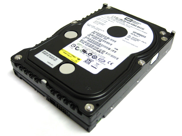 HP WD WD1600ADFD 160GB Raptor Hard Drive 414214-006 405427-001