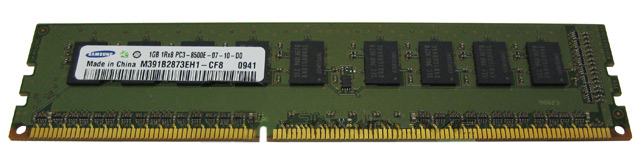 Samsung 1GB DDR3 PC3-8500E 1066 ECC Workstation Memory RAM