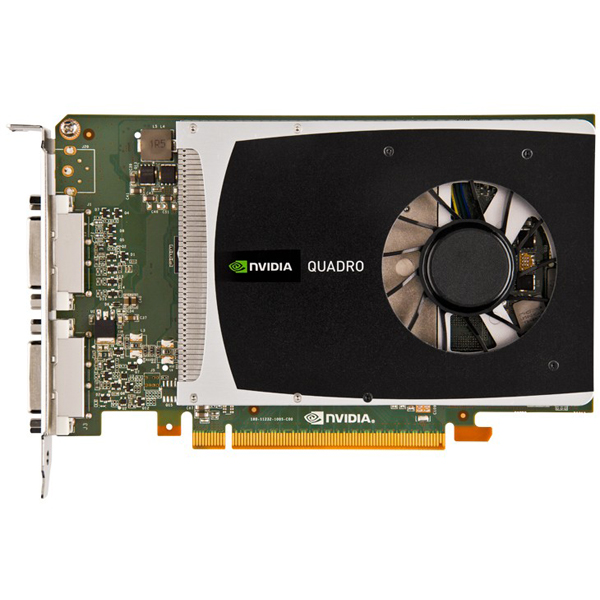 PNY VCQ2000D-T Quadro 2000D Dual DVI 1GB Video Card Nvidia