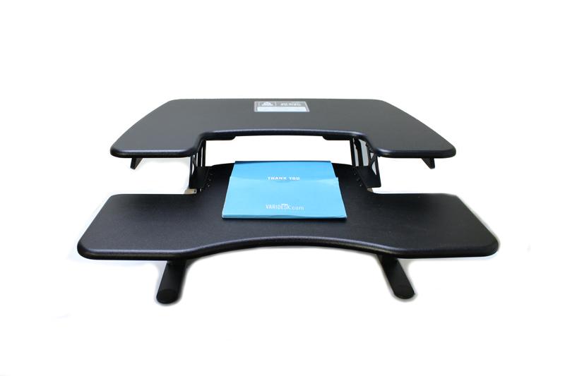 VARIDESK Pro Plus 30 Sit Stand Desk Solution Black 49901 ...