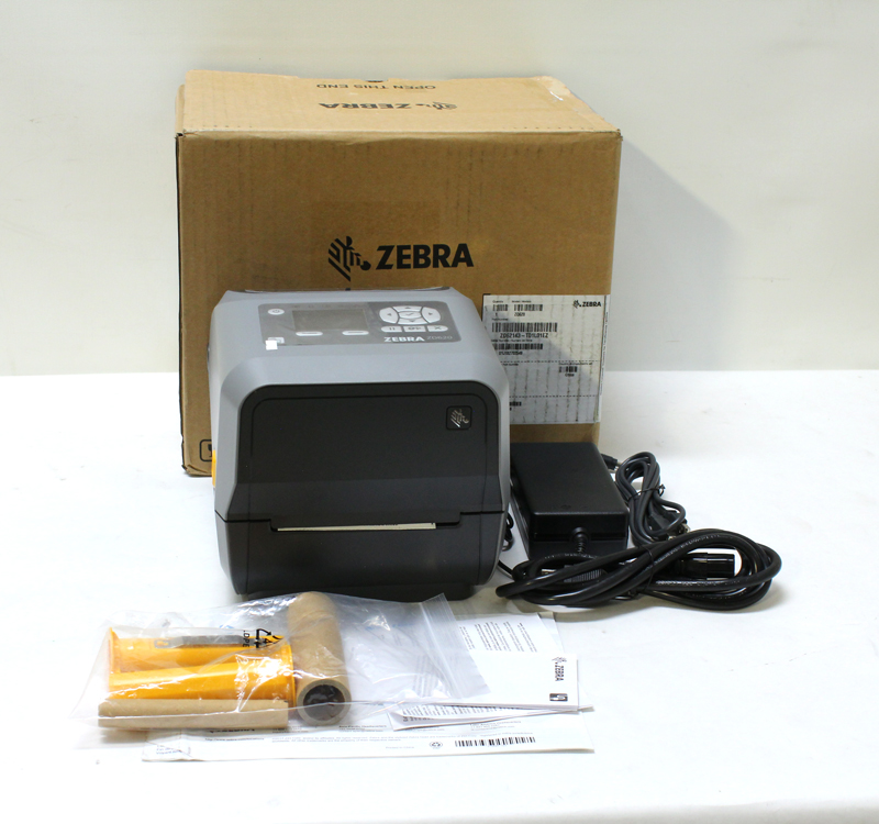 Zebra ZD620 label printer thermal transfer ZD62143-T01L01EZ