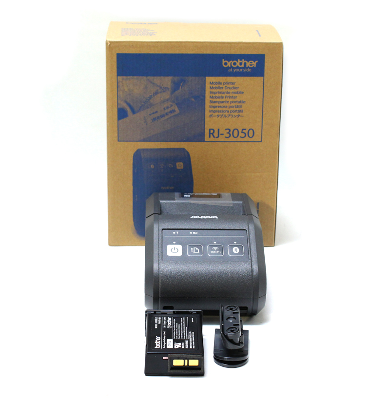 Brother Rugged jet RJ-3050 Label Printer Monochrome Thermal
