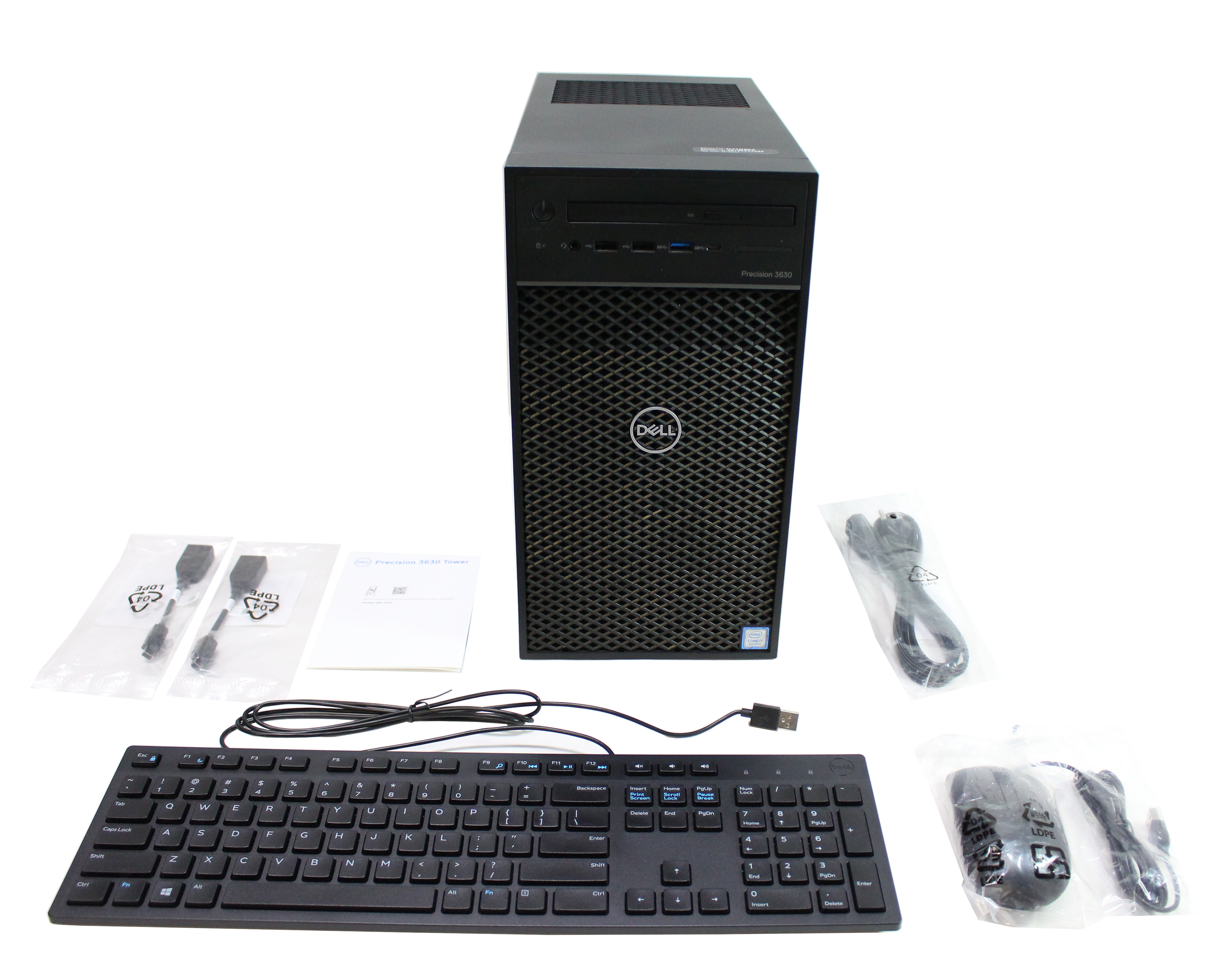 Dell Precision 3630 Tower Core I7-8700 3.2GHz SSD 1Tb RAM 16Gb D24M003