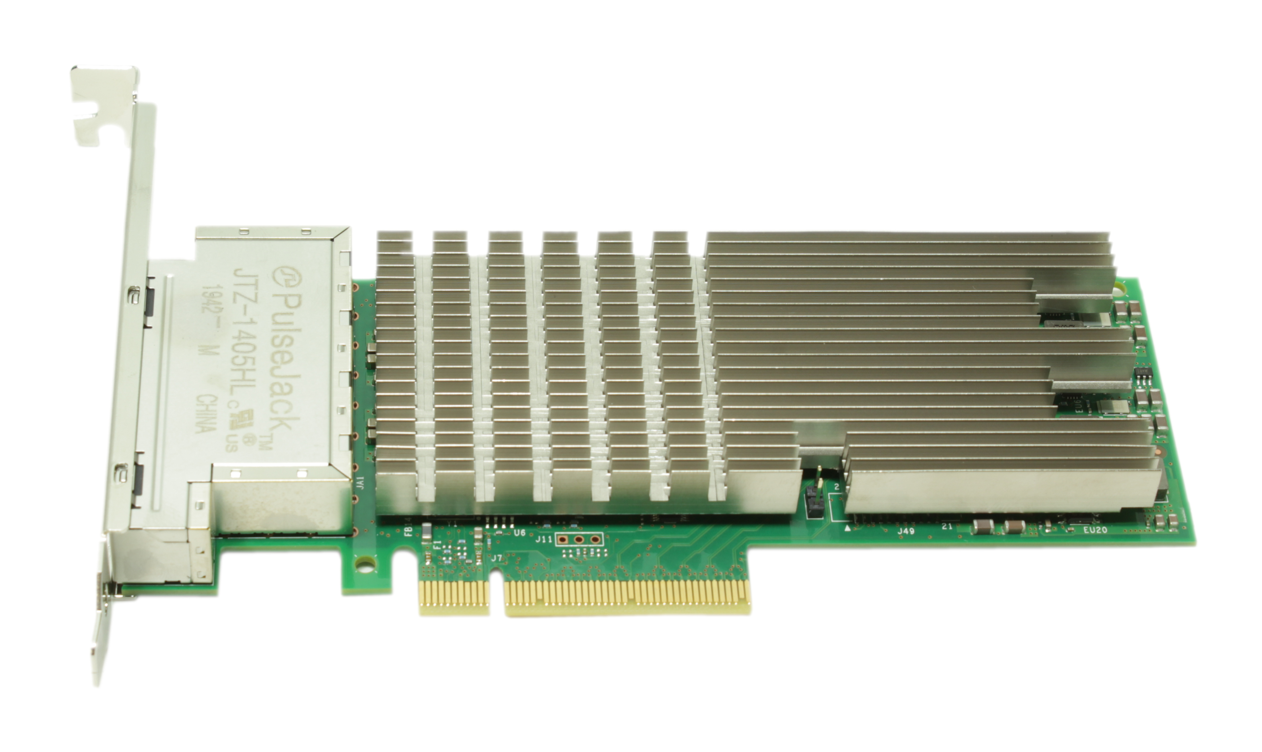 Dell Intel X710-T4 Quad Port 10GbE Base-T PCIe Network Adapter K5V44