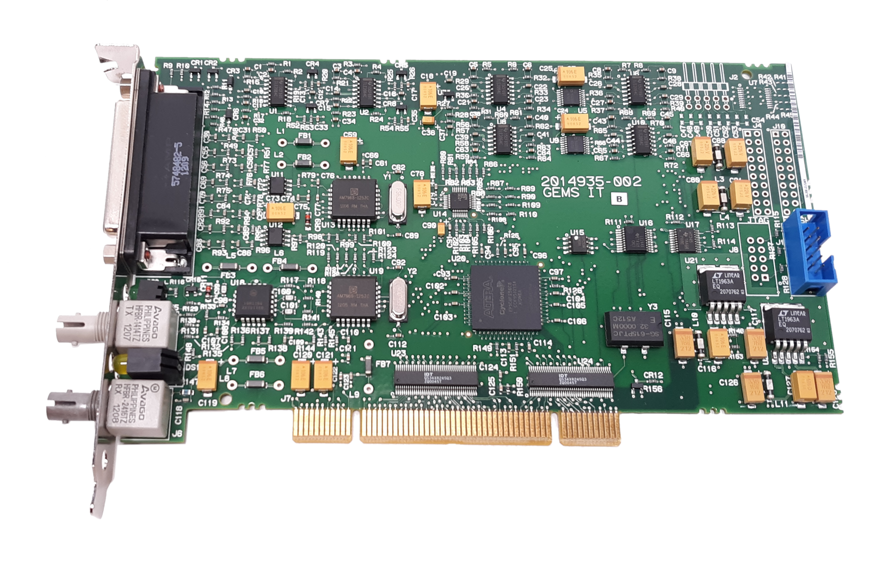 Intel GEMS IT Rev. A GE Medical Cardio Lab Interface PCI Card 2014935-002 2014934-001