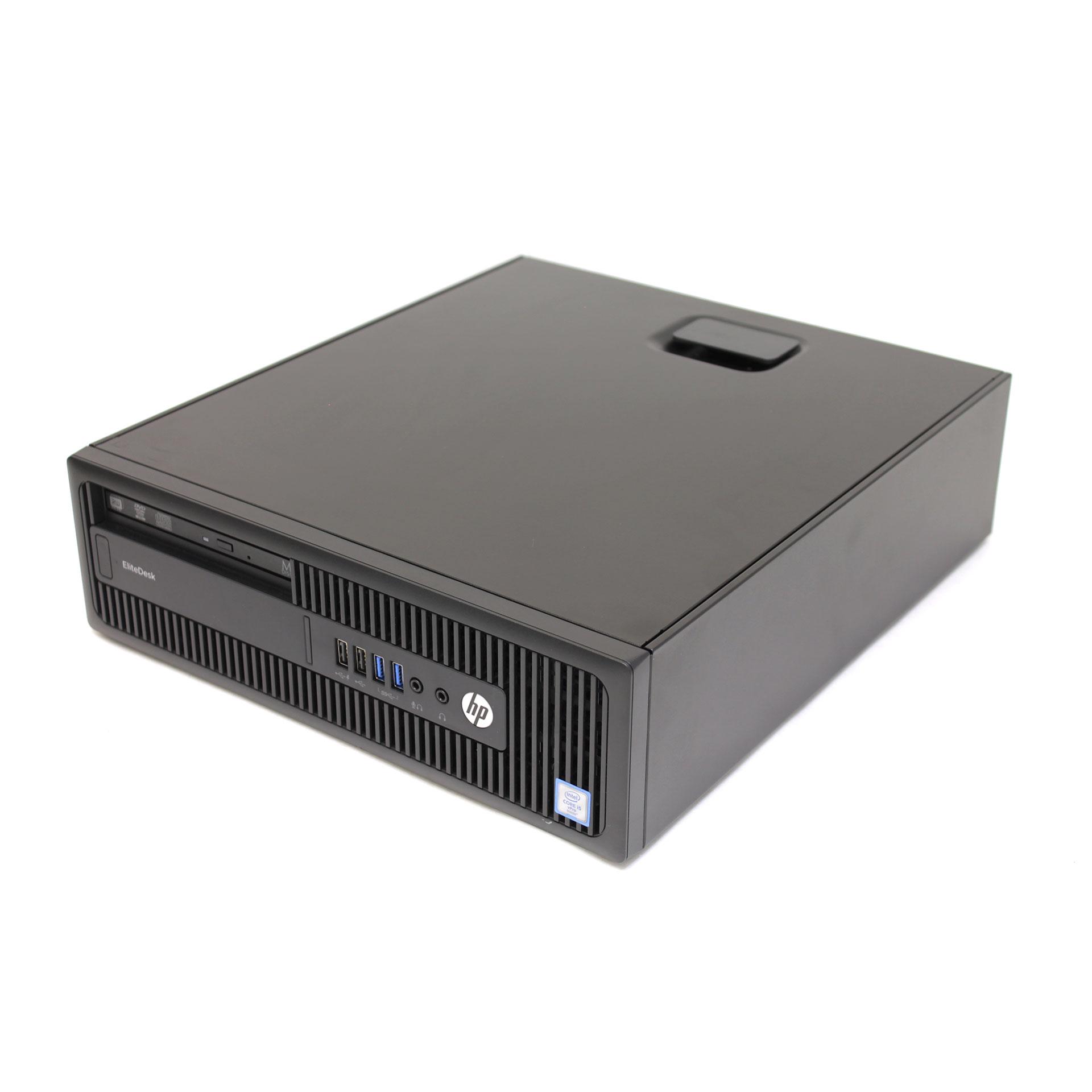 HP EliteDesk 800 G2 SFF Core i5 6500 8GB 128GB SSD W0E36US