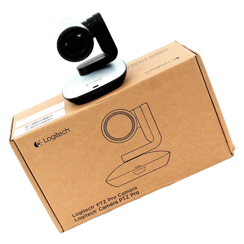 Logitech PTZ Pro Camera USB HD 1080p PN:960-000481 KIT:960001021