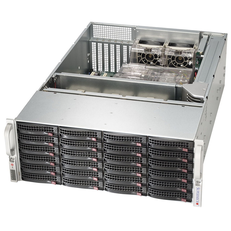 SuperMicro Superstorage Server SSG-6048R-E1CR24L No CPU Ram 4U