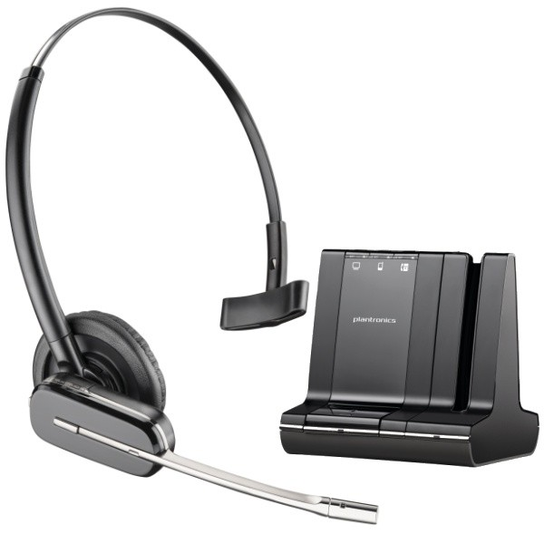 Plantronics SAVI W740 Multi-Device Wireless Headset 83542-01