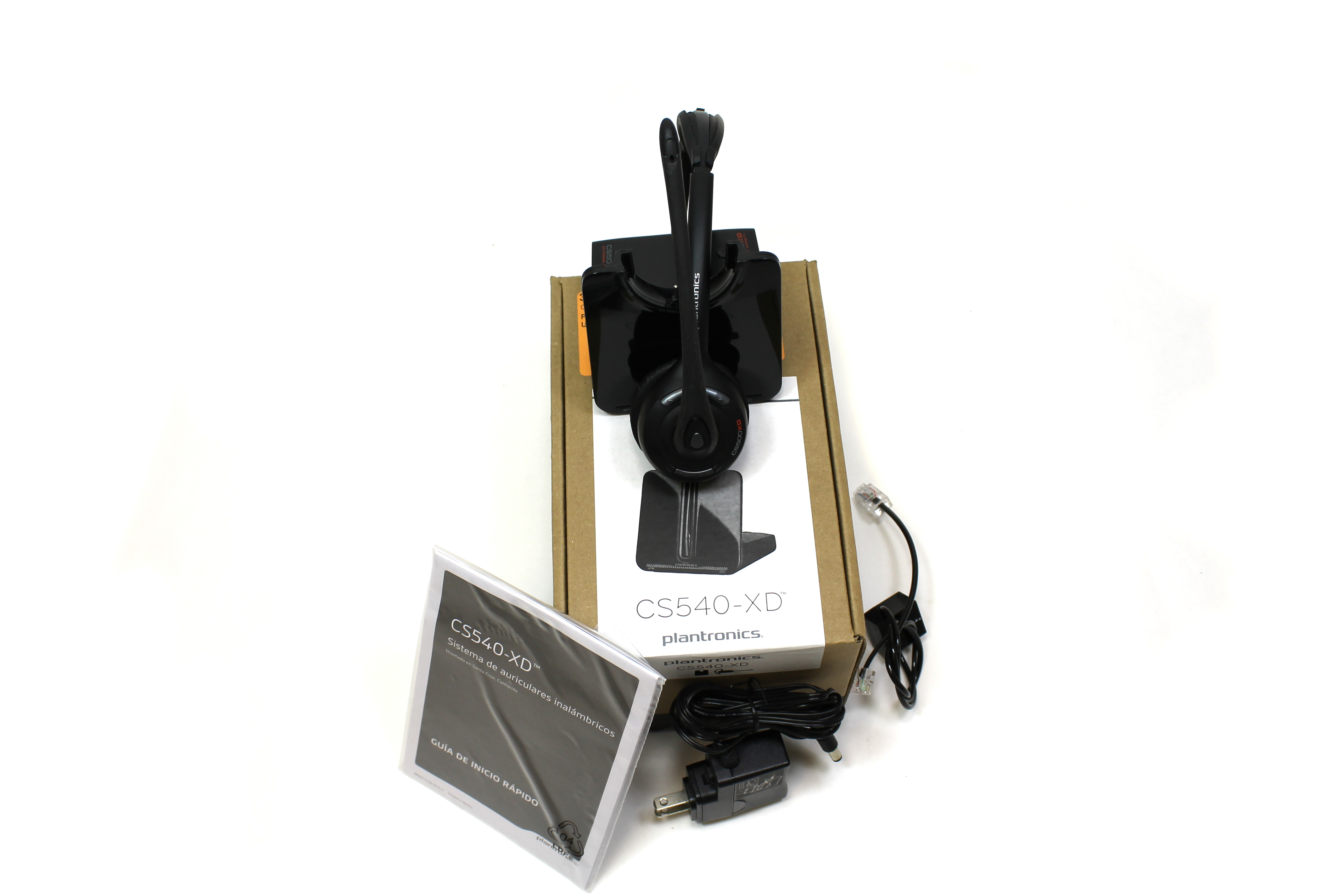Plantronics CS500 XD Wireless Headset 900MHz Up To 350 Feet CS500XD