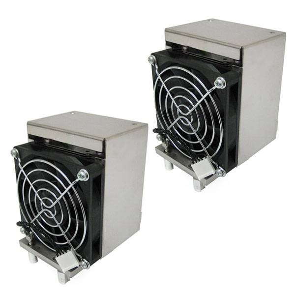 2x HP XW8400 XW6400 Workstation Heat Sink With Fan 398293-003
