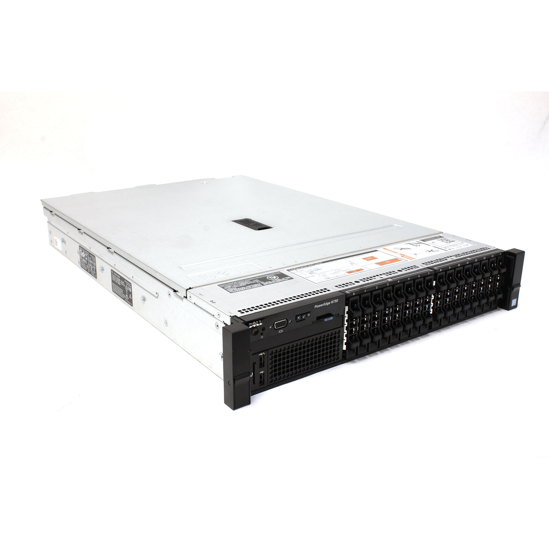 Dell PowerEdge R730 Xeon E5-2640 v4 32GB RAM 600GB 10K HDD 2U