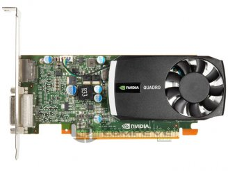 nVidia Quadro 400 PCI-E x16 512MB DDR3 Video Card DVI DP