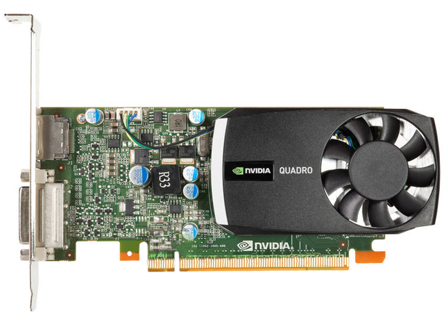 nVidia Quadro 400 512MB Video Card 645557-001 642229-001 HP