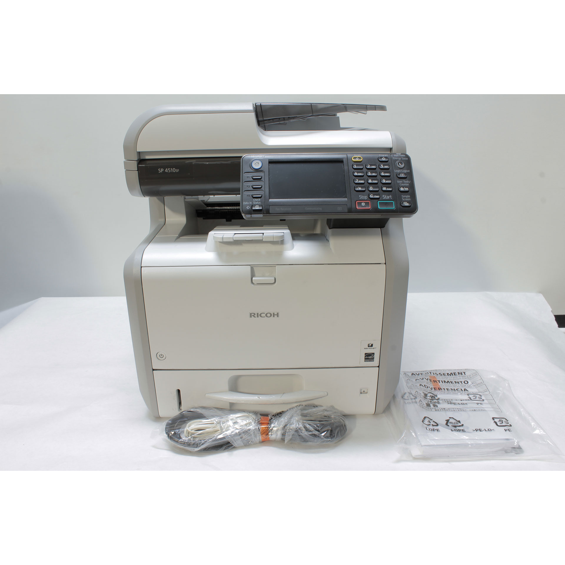 Ricoh SP 4510SF All-in-One Monochrome LED Printer 42 ppm