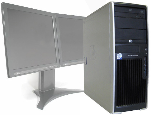 HP XW4400 Dual Core 1.86 Ghz 2GB FX 1500 Computer Aided Design