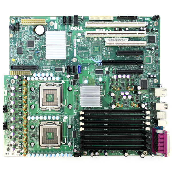 Dell Precision 490 Workstation Motherboard GU083 Dual CPU Socket