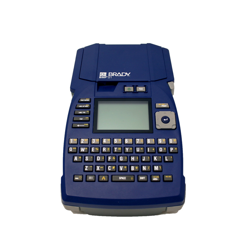 Brady BMP51 Label Printer Monochrome Thermal Transfer QWERTY