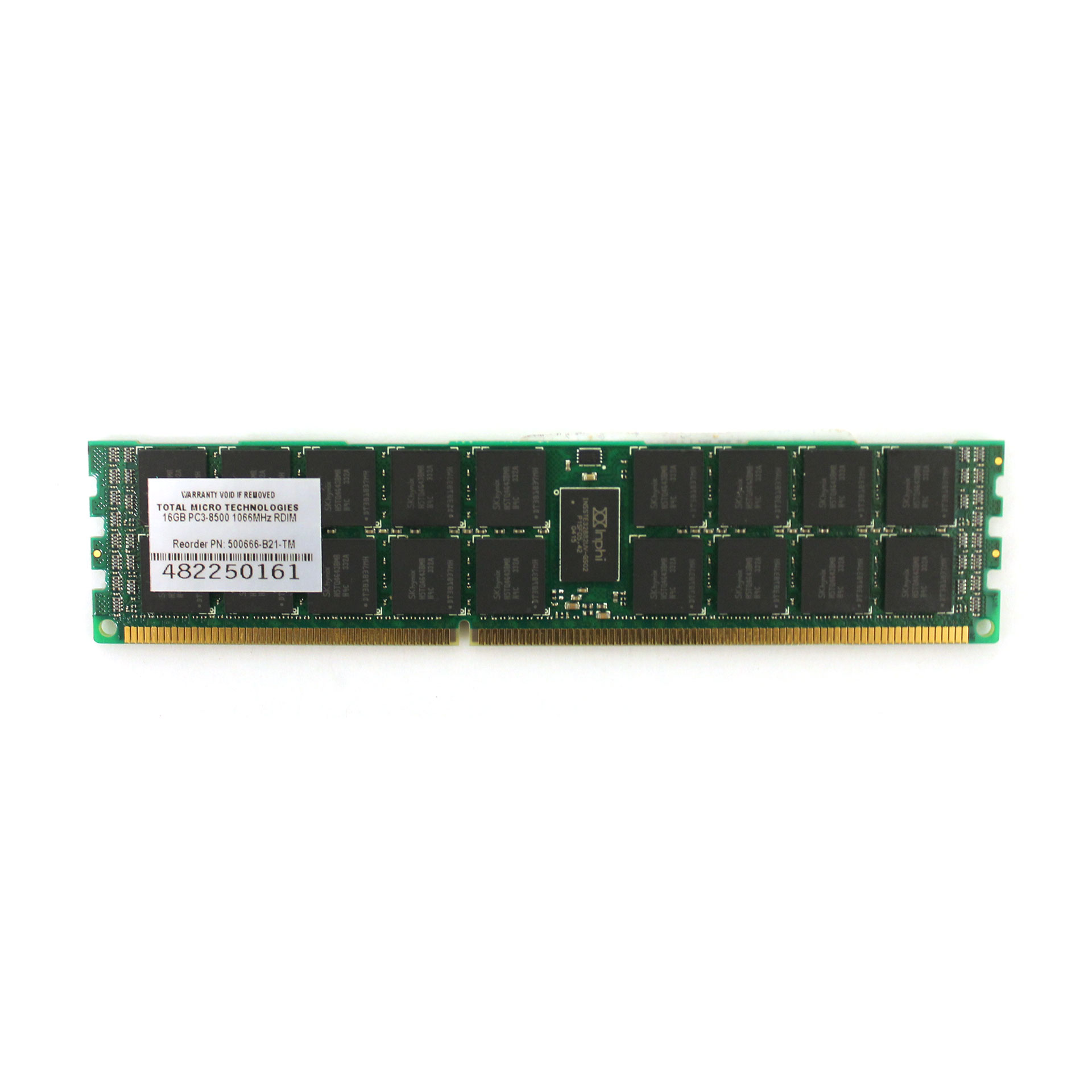 Total Micro 16GB Memory 500666-B21-TM PC3 8500 SDRAM ECC DDR3