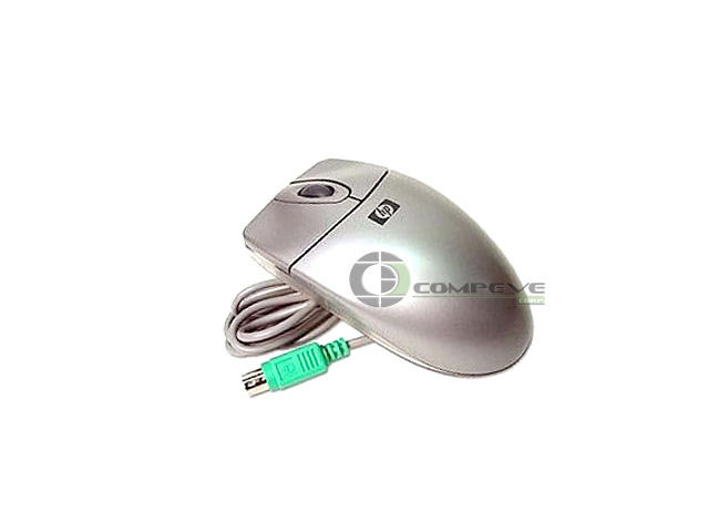 HP Optical Scroll Mouse PS2 Arctic Silver Color 5187-1556 N3+