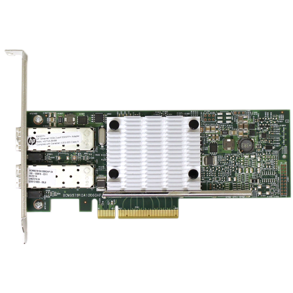 HP Ethernet 10Gb 530SFP+ Network Adapter 656244-001 E215960