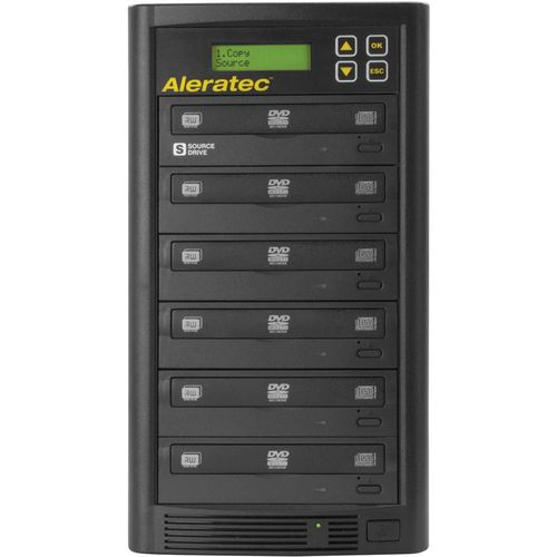 Aleratec DVD/CD Copy Tower 1:5 DVD duplicator external 260181