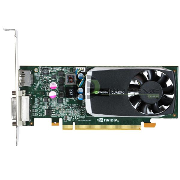 nVidia Quadro 600 1GB DDR3 PCI-E x16 Dell PWG0F Video Card