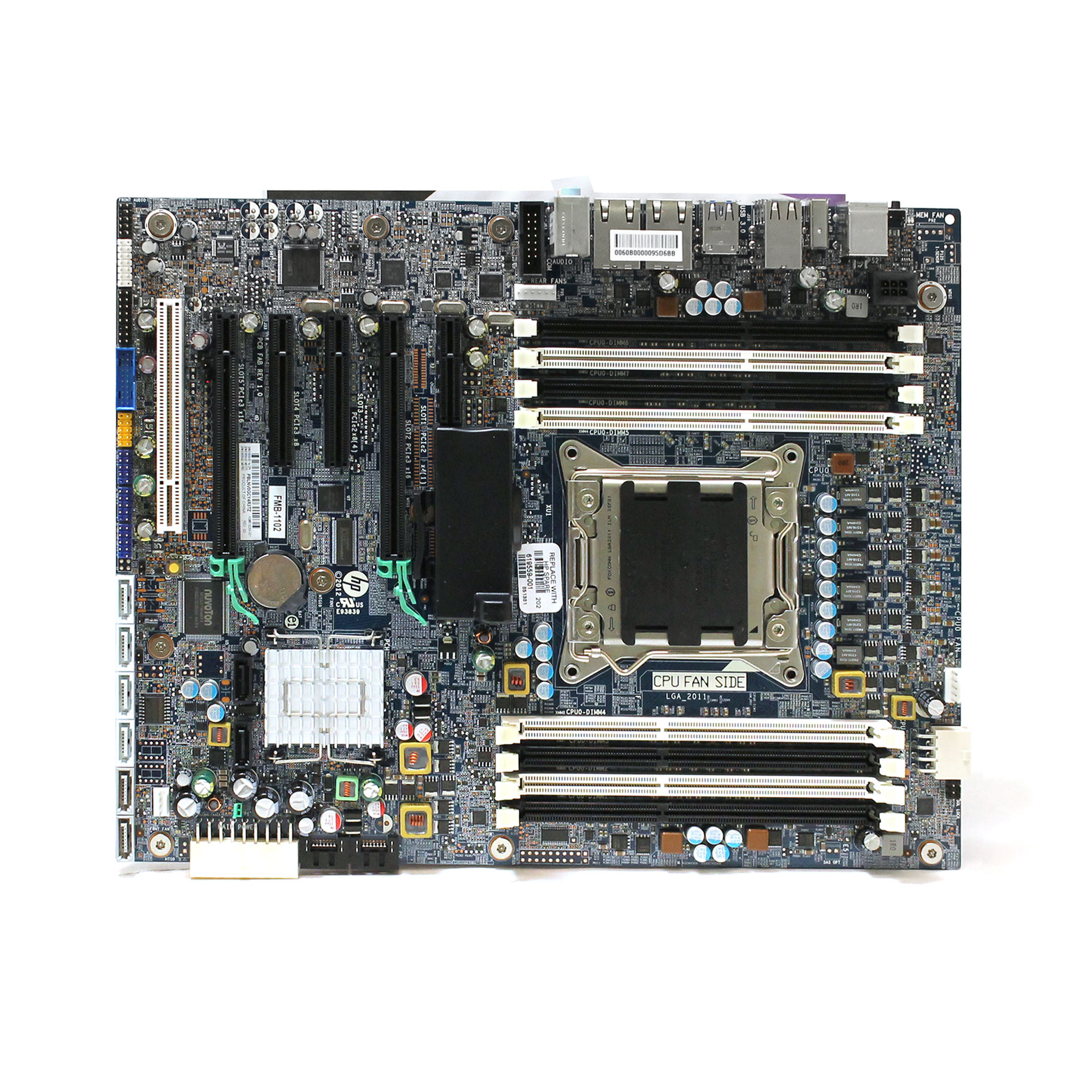 HP Z620 Desktop / PC Motherboard LGA2011 619559-001 618264-001